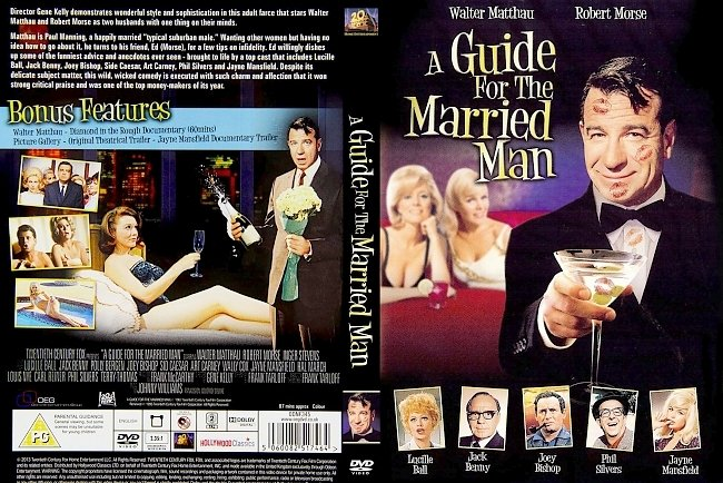 dvd cover A Guide For The Married Man Dvd Cover