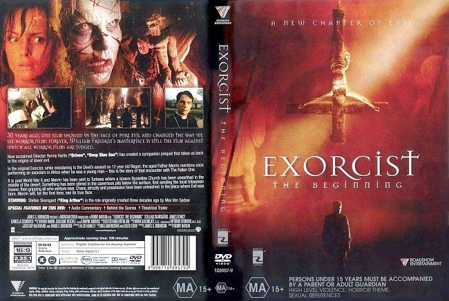 dvd cover Exorcist The Beginning 2004 Dvd Cover