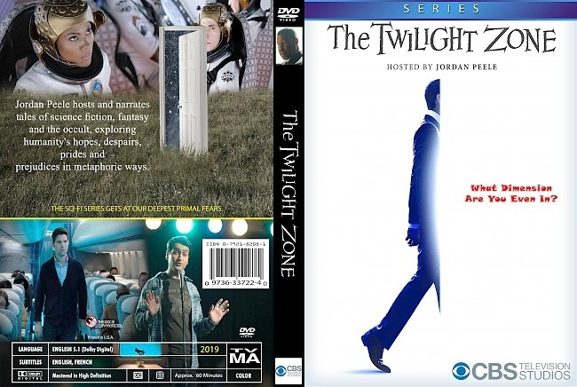 dvd cover The Twilight Zone Series 2019 Dvd Cover