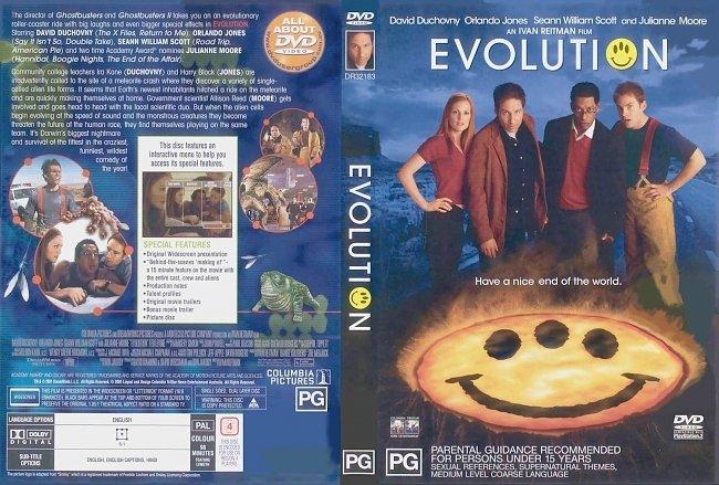 dvd cover Evolution 2001 Dvd Cover