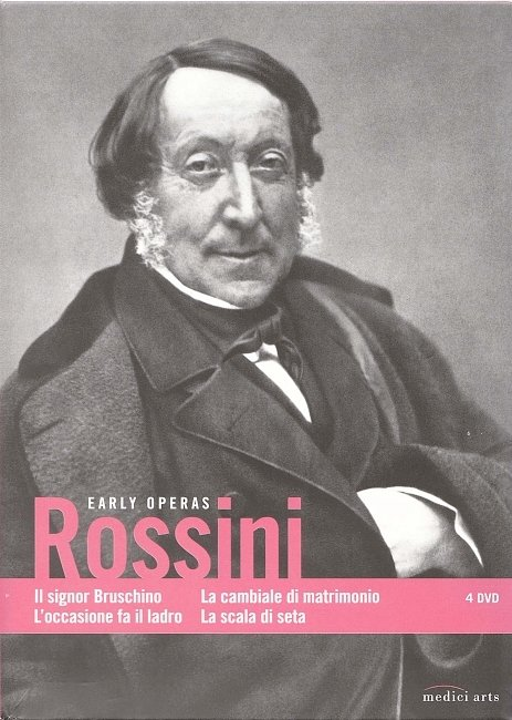 dvd cover Rossini Early Operas 2008 Dvd Cover