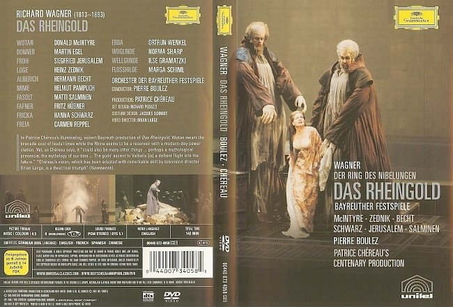 dvd cover Wagner - Das Reingold 2005 Dvd Cover