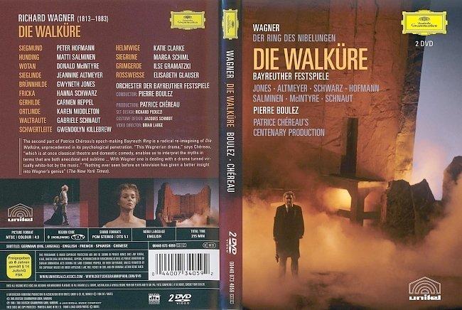 dvd cover Wagner - Die Walkure 2005 Dvd Cover
