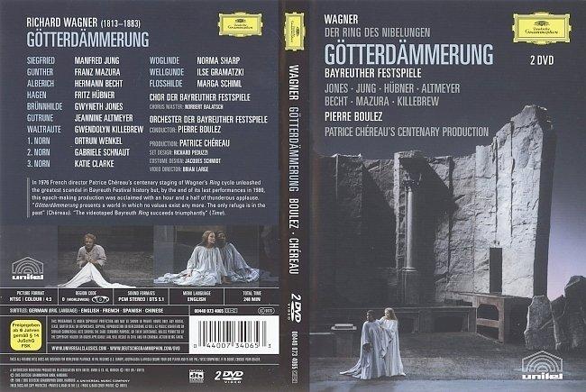 dvd cover Wagner - Gotterdammerung 2005 Dvd Cover