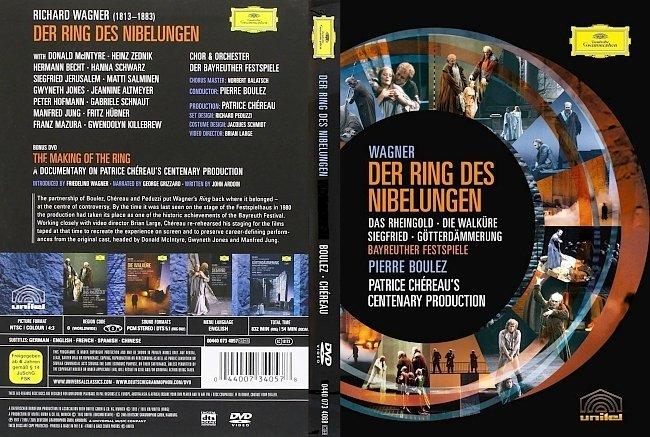 dvd cover Wagner - Der Ring Des Nibelungen 2005 Dvd Cover