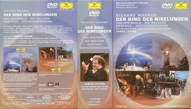 dvd cover Wagner - Der Ring Des Nibelungen 1990 Dvd Cover