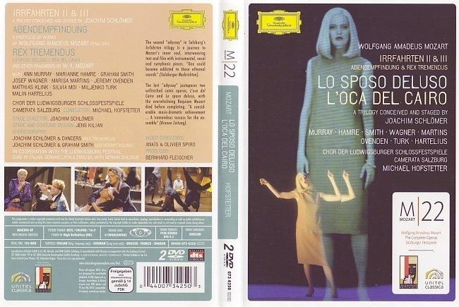 dvd cover Mozart - Lo Sposo Deluso 2006 Dvd Cover