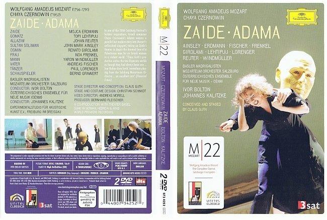 dvd cover Mozart - Zaide_adama 2006 Dvd Cover