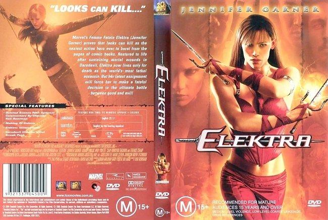 dvd cover Elektra 2005 Dvd Cover