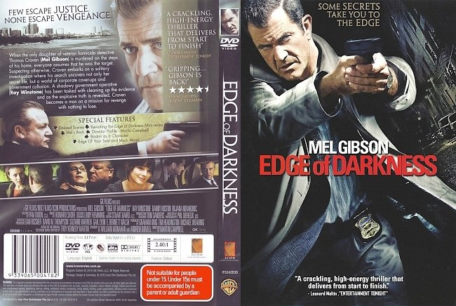 dvd cover Edge Of Darkness 2010 Dvd Cover