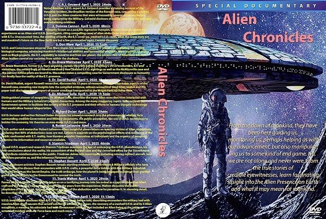 dvd cover Alien Chronicles 2020 Dvd Cover