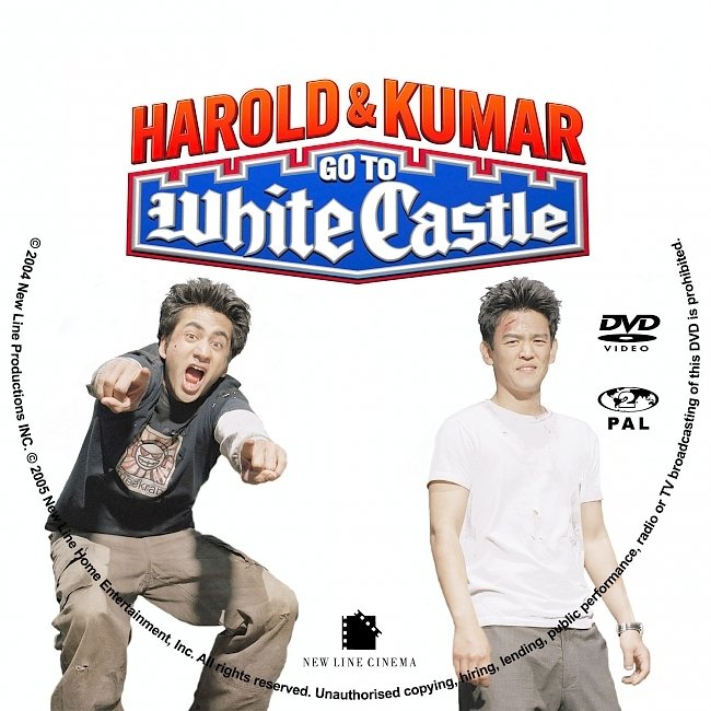 dvd cover Harold And Kumar Go To Whitecastle Dvd Cover