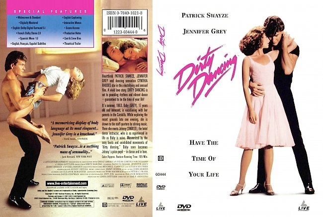 dvd cover Dirty Dancing 1987 Dvd Cover