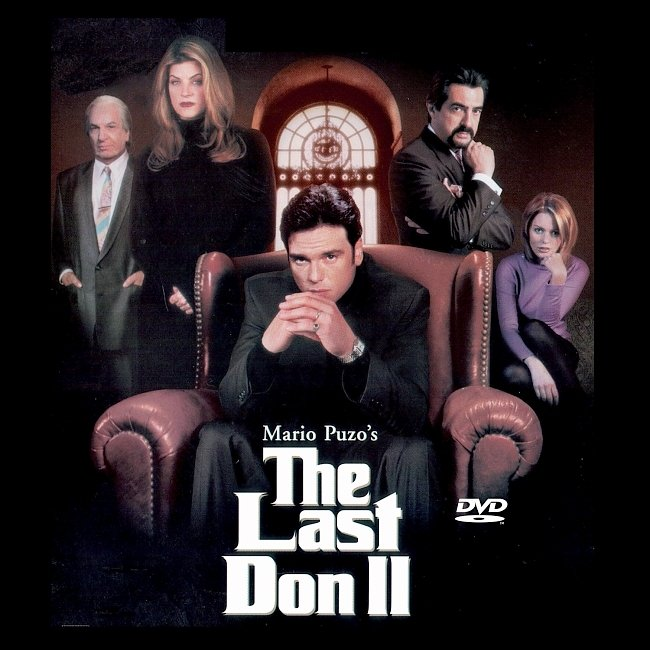 dvd cover The Last Don II Dvd Cover