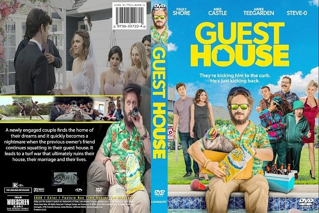 dvd cover Guest House 2020 Dvd Cover