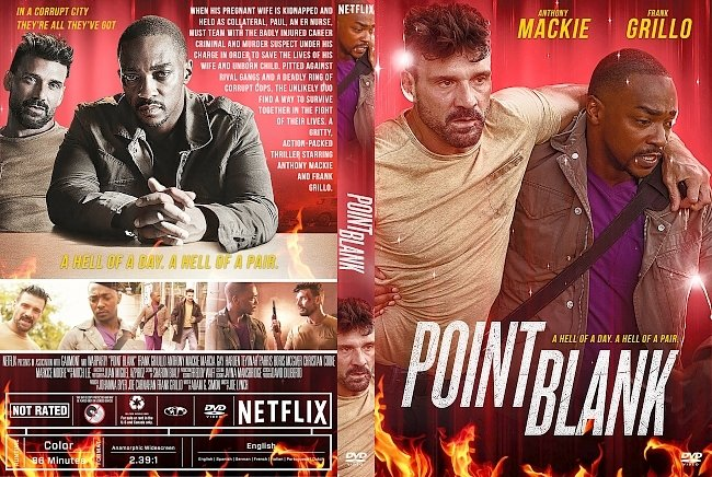 dvd cover Point Blank 2019 Dvd Cover
