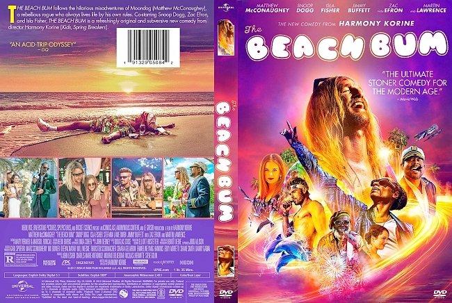 dvd cover The Beach Bum 2019 Dvd Cover