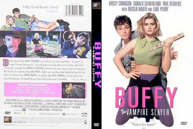 dvd cover Buffy The Vampire Slayer 1992 Dvd Cover