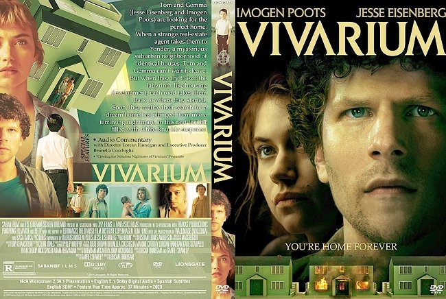 dvd cover Vivarium 2019 Dvd Cover