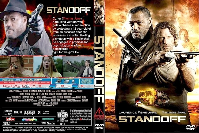 dvd cover Standoff 2016 Dvd Cover
