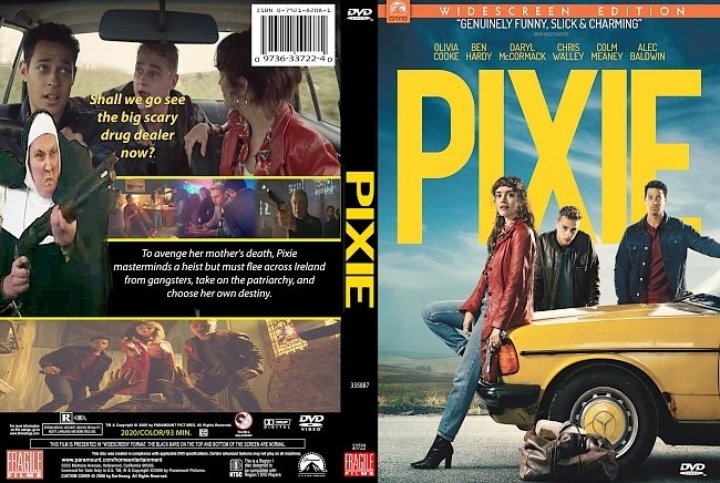 dvd cover Pixie 2020 Dvd Cover