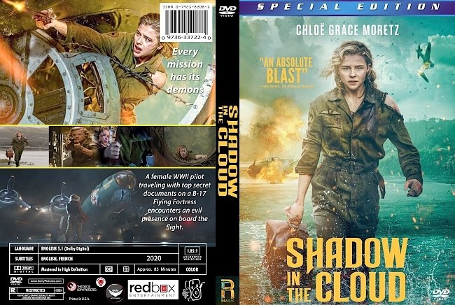 dvd cover Shadow In The Cloud 2020 Dvd Cover
