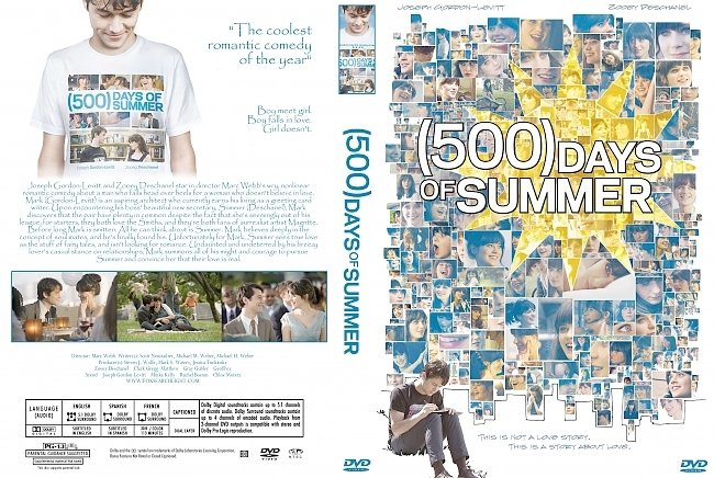 dvd cover 500 Days Of Summer 2009 Dvd Cover