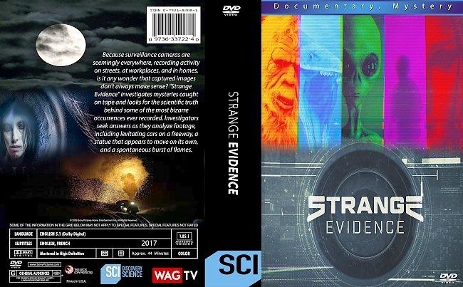 dvd cover Strange Evidence 2017 Dvd Cover