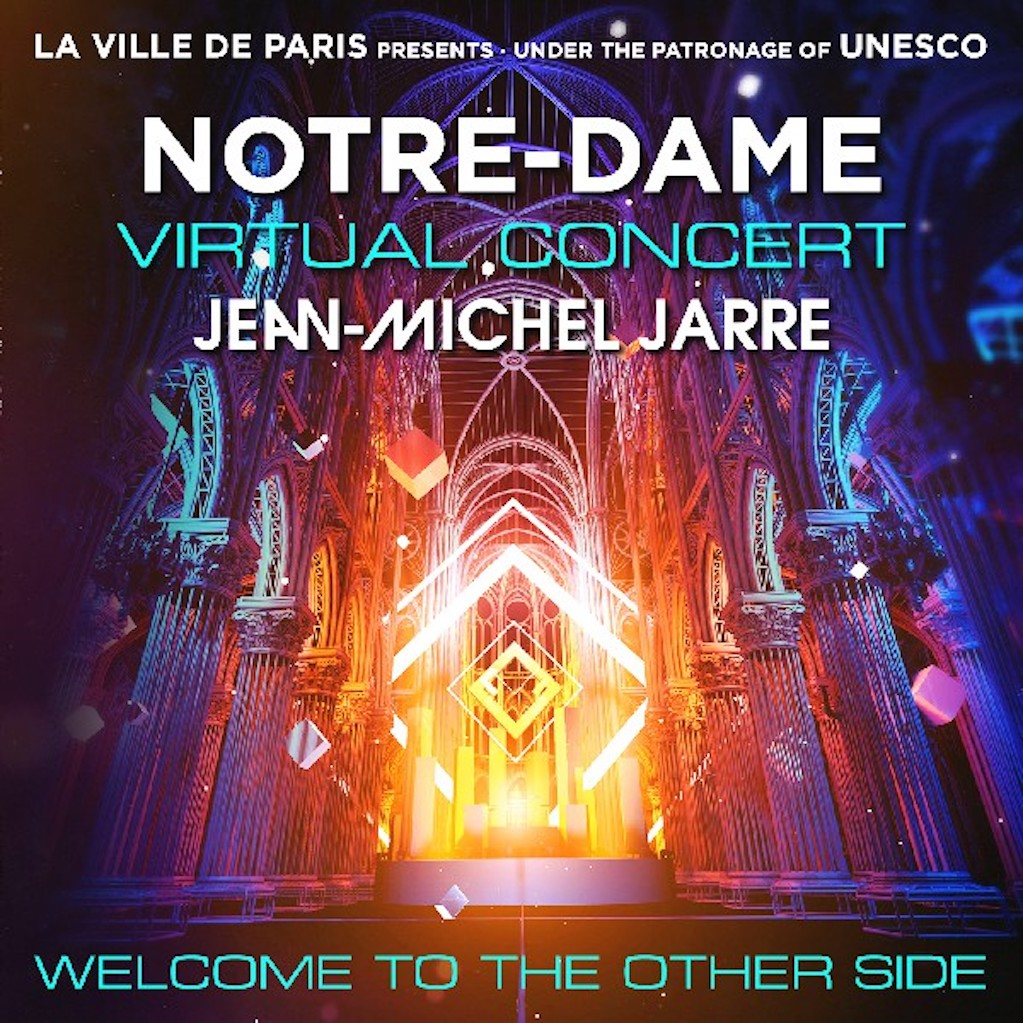 cd cover Jean-Michel Jarre – Welcome To The Other Side 2021 Cd Cover