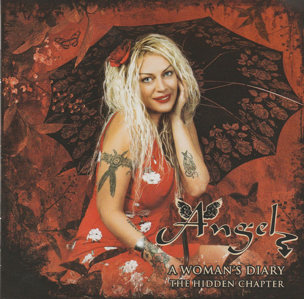 cd cover Angel – A Woman's Diary - The Hidden Chapter 2020 Cd Cover