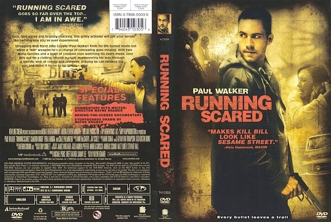 dvd cover Running Scared 2006 Dvd Cover