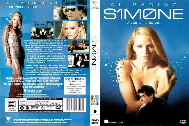 dvd cover Simone 2002 Dvd Cover
