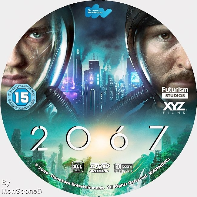dvd cover 2067 2020 Dvd Disc Dvd Cover