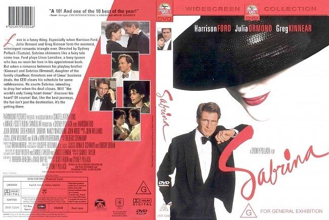 dvd cover Sabrina 1995 Dvd Cover