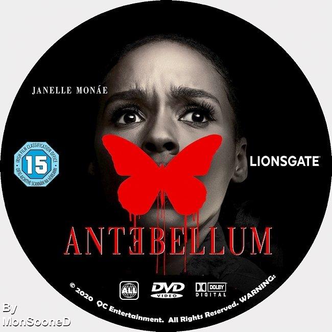 dvd cover Antebellum 2020 Dvd Disc Dvd Cover