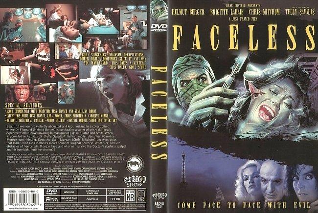 dvd cover Faceless 1987 R1 Dvd Cover