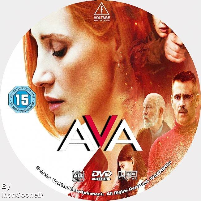 dvd cover Ava 2020 Dvd Disc Dvd Cover