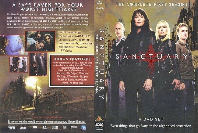 dvd cover Sanctuary - Season 1 2008 Dvd Cover