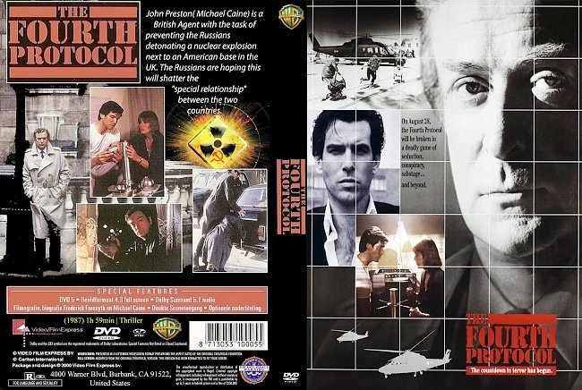 dvd cover The Fourth Protocol 1987 Dvd Cover
