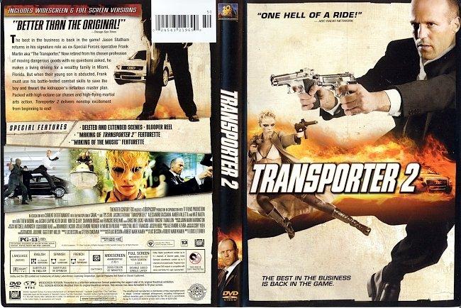 dvd cover Transporter 2 2005 Dvd Cover