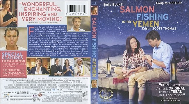 dvd cover Salmon Fishing In The Yemen 2011 Dvd Cover