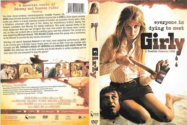 dvd cover Girly 1970 R0 Dvd Cover