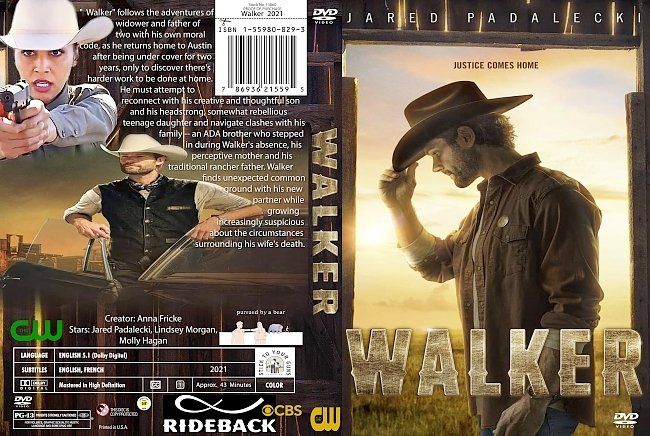 dvd cover Walker 2021 Dvd Cover