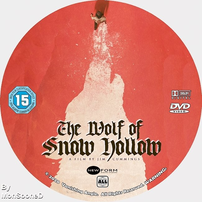 dvd cover The Wolf Of Snow Hollow 2020 Dvd Disc Dvd Cover