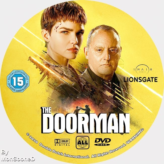dvd cover The Doorman 2020 Dvd Disc Dvd Cover