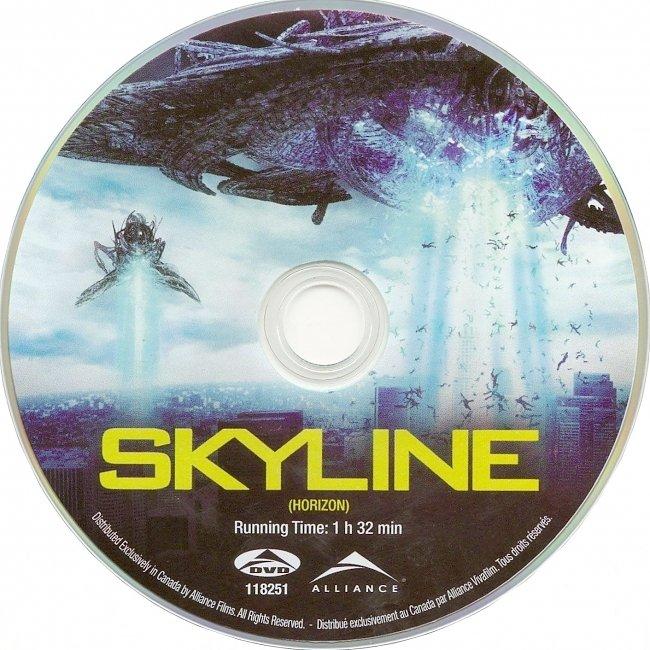 dvd cover Skyline 2010 R1 Disc Dvd Cover