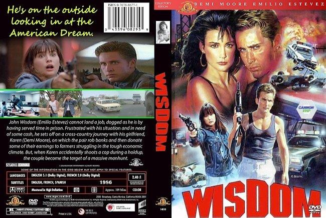 dvd cover Wisdom 1986 Dvd Cover
