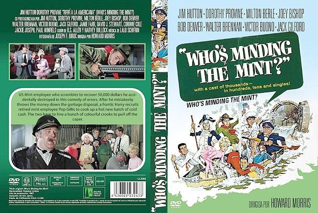 dvd cover Whos Minding The Mint 1967 Dvd Cover