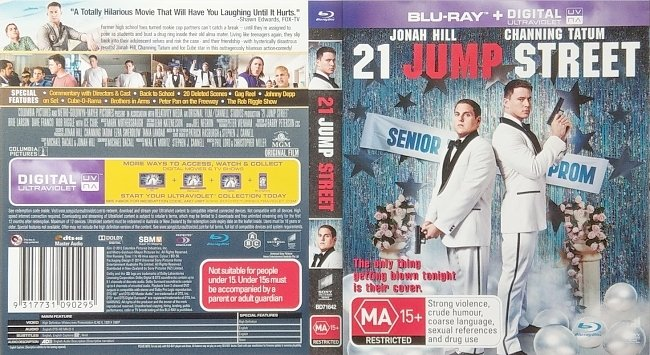 dvd cover 21 Jump Street 2012 R0 Dvd Cover