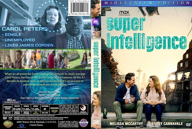 dvd cover Super Intelligence 2020 Dvd Cover